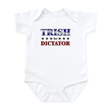 TRISH for dictator Infant Bodysuit