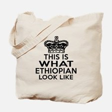 Ethiopian Look Like Designs Tote Bag