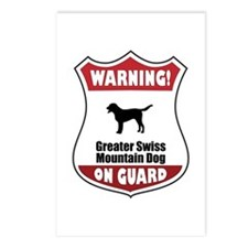 Swissie On Guard Postcards (Package of 8)