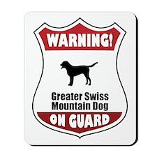 Swissie On Guard Mousepad