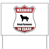 Great pyrenees lover Yard Signs