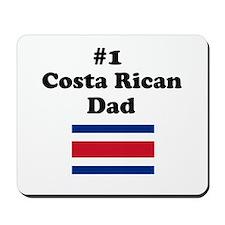 #1 Costa Rican Dad Mousepad