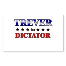 TREVER for dictator Rectangle Decal