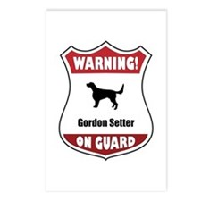 Setter On Guard Postcards (Package of 8)