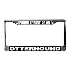 Proud Parent of an Otterhound License Plate Frame