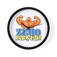 ZERO Baby Fat! - Wall Clock