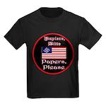 Papiere Bitte-1c Kids Dark T-Shirt