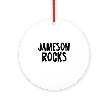 Jameson Rocks Ornament (Round)