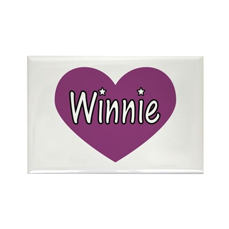 Winnie Rectangle Magnet (10 pack)