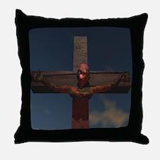 Clown Crucifiction - Throw Pillow