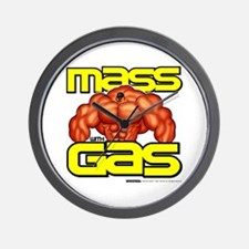 Mass With Gas - Wall Clock