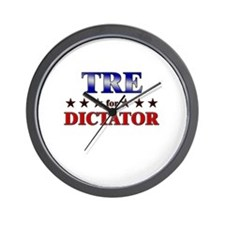 TRE for dictator Wall Clock