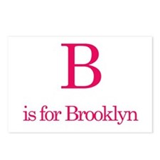 B is for Brooklyn Postcards (Package of 8)