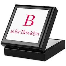 B is for Brooklyn Keepsake Box