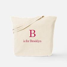 B is for Brooklyn Tote Bag