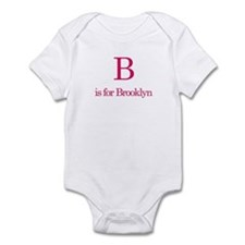 B is for Brooklyn Infant Bodysuit