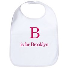 B is for Brooklyn Bib