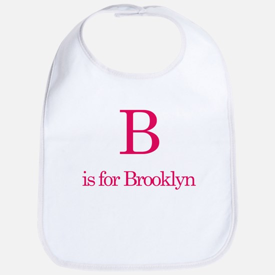 B is for Brooklyn Bib