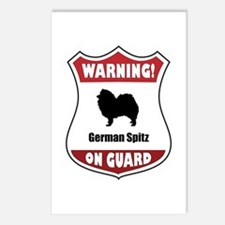 Spitz On Guard Postcards (Package of 8)