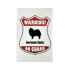 Spitz On Guard Rectangle Magnet