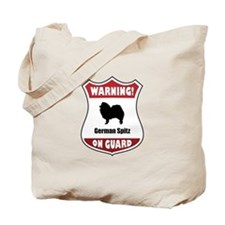 Spitz On Guard Tote Bag