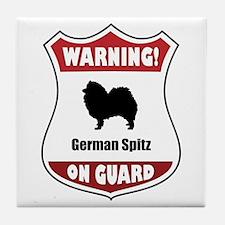 Spitz On Guard Tile Coaster