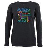 Autism Plus Size Long Sleeves