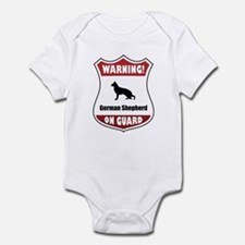 Shepherd On Guard Infant Bodysuit
