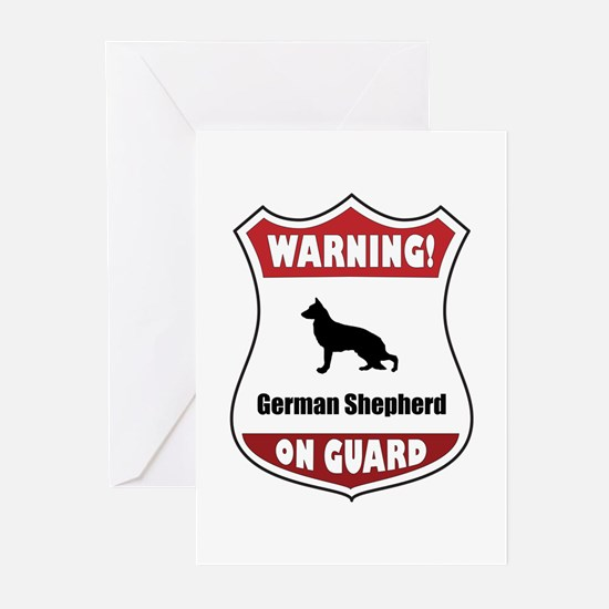 Shepherd On Guard Greeting Cards (Pk of 10)