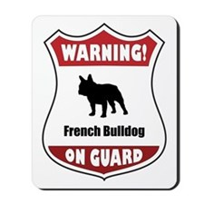 Bulldog On Guard Mousepad