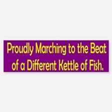 Kettle of Fish Bumper Bumper Bumper Sticker