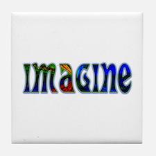 IMAGINE Tile Coaster