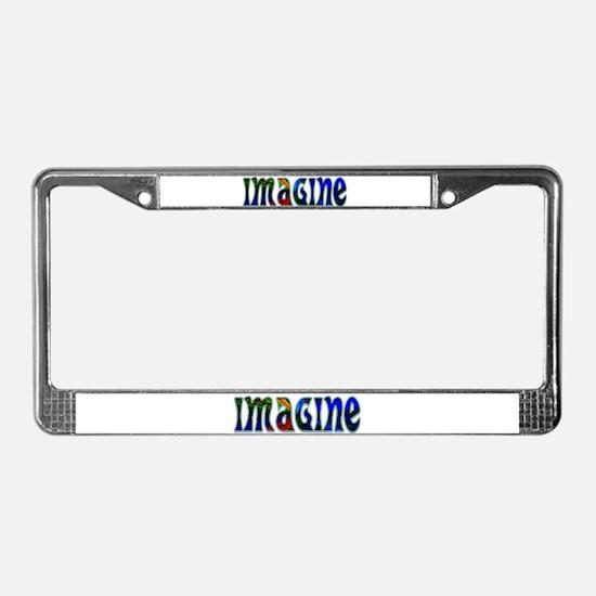 IMAGINE License Plate Frame