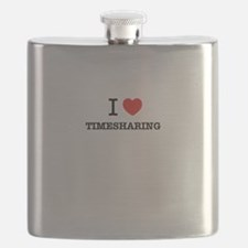 I Love TIMESHARING Flask