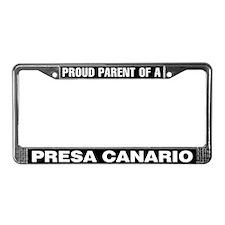Presa Canario License Plate Frame