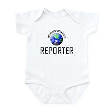 World's Greatest REPORTER Infant Bodysuit