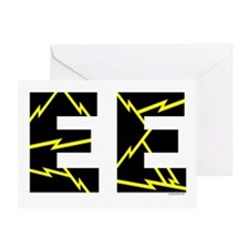 Charged EE Greeting Card