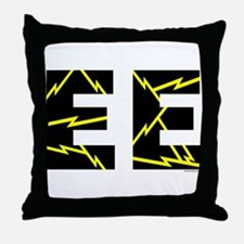 Charged EE Throw Pillow