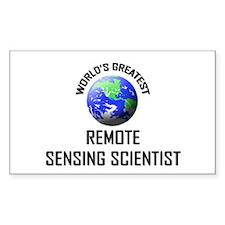 World's Greatest REMOTE SENSING SCIENTIST Decal