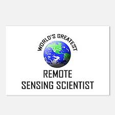 World's Greatest REMOTE SENSING SCIENTIST Postcard