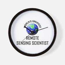 World's Greatest REMOTE SENSING SCIENTIST Wall Clo