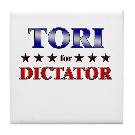 TORI for dictator Tile Coaster