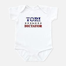 TORI for dictator Infant Bodysuit
