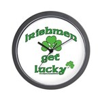 Irishmen Get Lucky Wall Clock