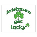 Irishmen Get Lucky Small Poster