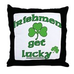 Irishmen Get Lucky Throw Pillow
