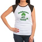 Irishmen Get Lucky Women's Cap Sleeve T-Shirt