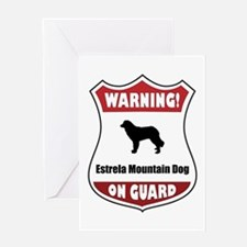 Estrela On Guard Greeting Card
