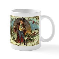 Christmas Snowball Boy Mug
