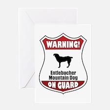 Entlebucher On Guard Greeting Card